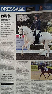 Horse and Hound Article