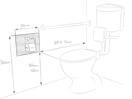Design for Access & Mobility - Zone for Location of Toilet Paper Dispenser