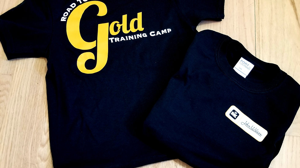 Road to Gold T Shirt Limited Youth Sizes only