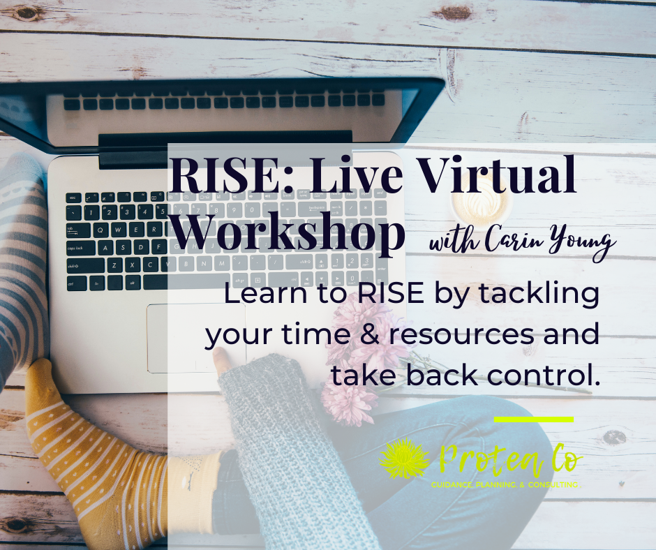 RISE: Conquer Your Time & Resources