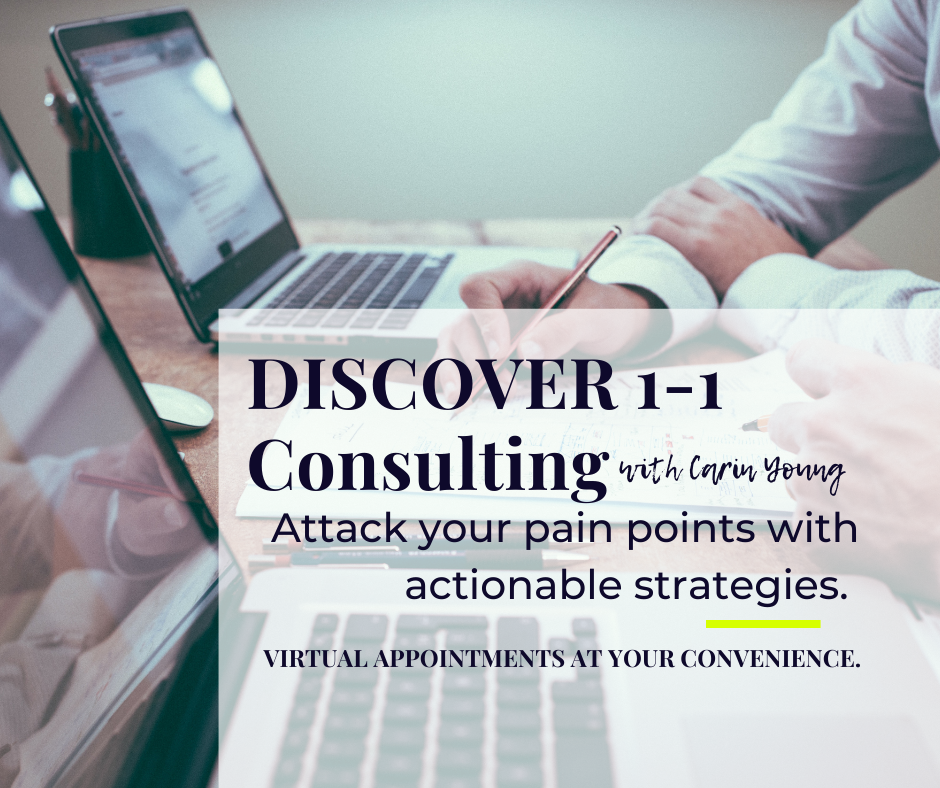Discover 1-1 Consulting