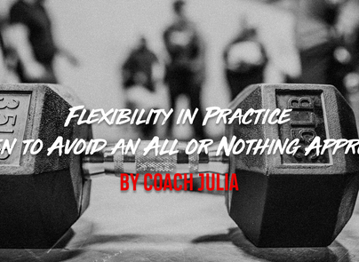 """Flexibility in Practice: When to Avoid an """"All or Nothing"""" Approach"""