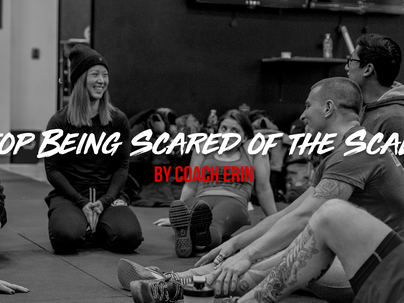 Stop Being Scared of the Scale by Coach Erin