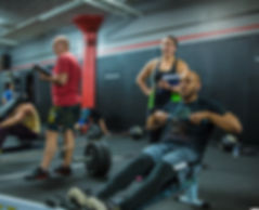 Fitness class at CrossFit Stealth