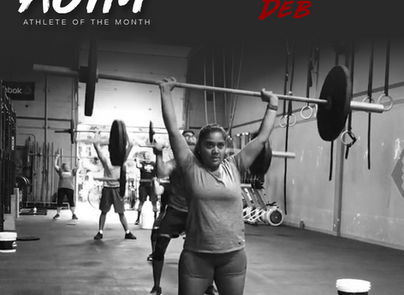 Athlete of the Month - Charusmita Deb