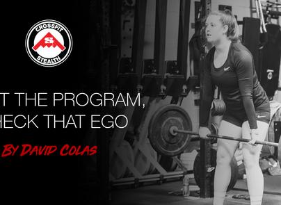 Trust the Program, Check the Ego