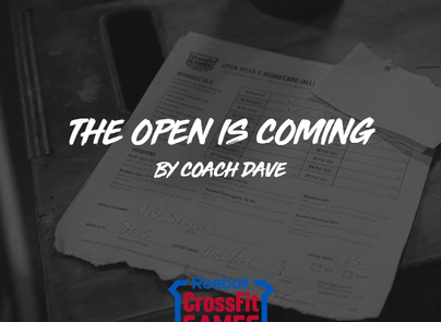 The Open is Coming... Coach Dave