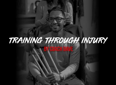 Training Through Injury by Coach Dave