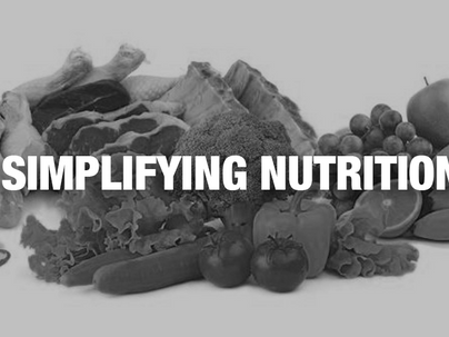 Simplifying Nutrition by Coach John