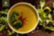 Συνταγή για βελουτέ σούπα λαχανικών με μπρόκολο, πατάτα, καρότο και  ελαιόλαδο Virgilliant.jpg