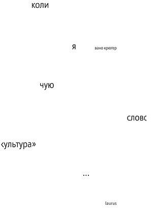 "Коли я чую слово ""культура"" | Вано Крюґер"