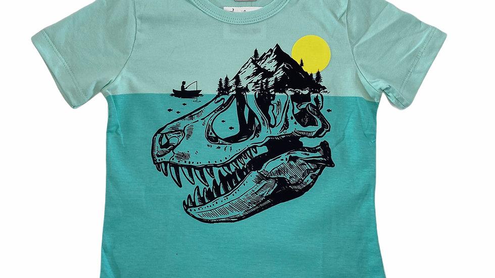 Camiseta Dino Ilha