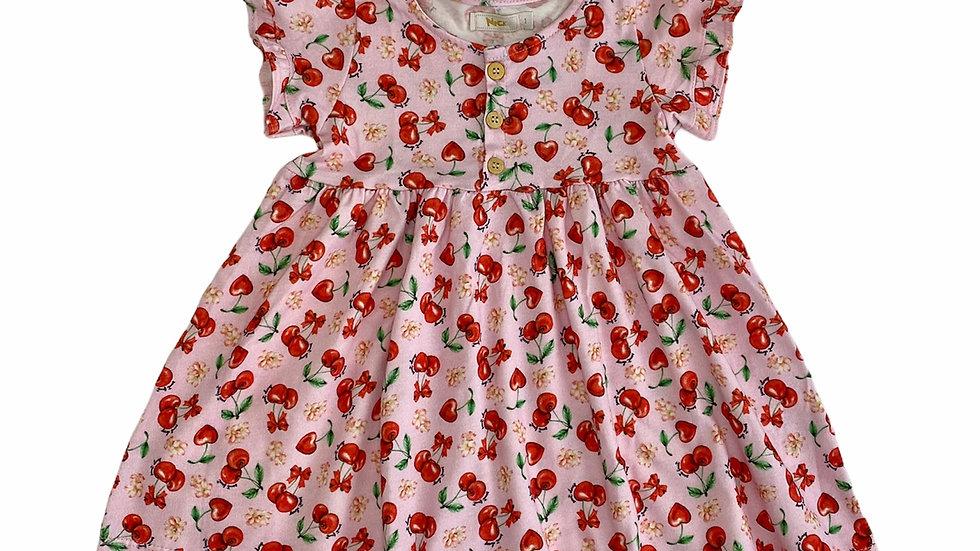 Vestido Cerejas