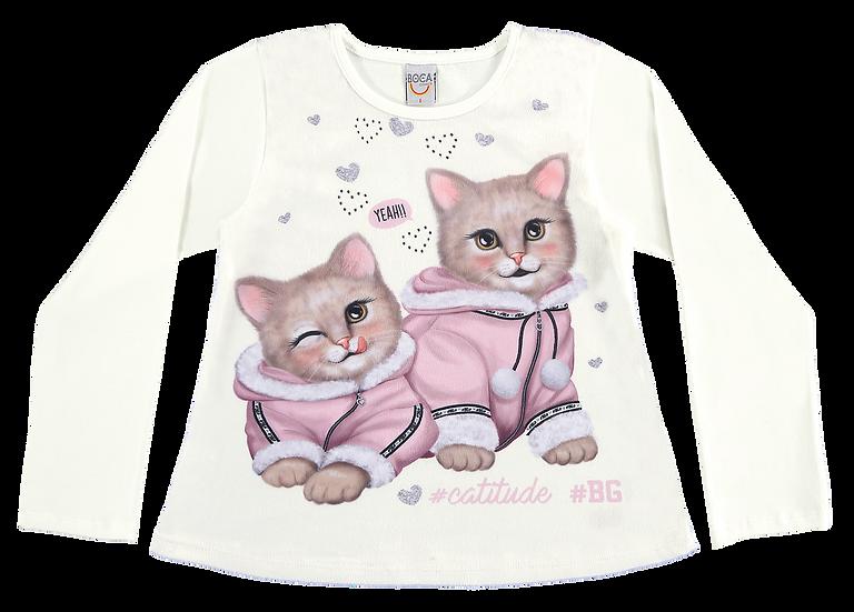 Camiseta Gatinhas