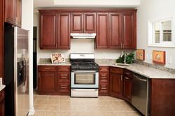 A1 Glazed Potomac Cabinets