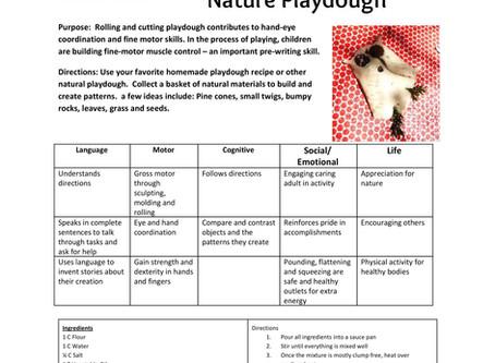 Activity Guide: Nature Playdough