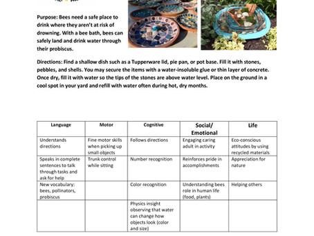 Activity Guide: Bee Bath