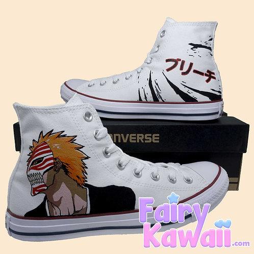 Bleach Shoes - Custom Converse Anime Shoes
