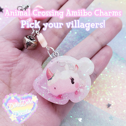 Animal Crossing Amiibo Charms