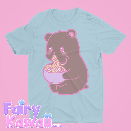 Hungry Bear Shirt Kawaii Clothing