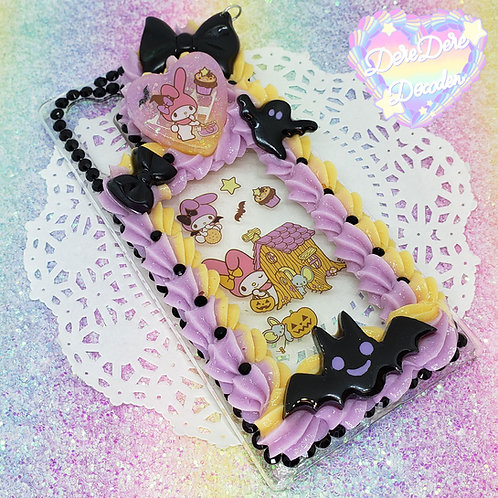 Galaxy Note 10 Spooky My Melody Border Case