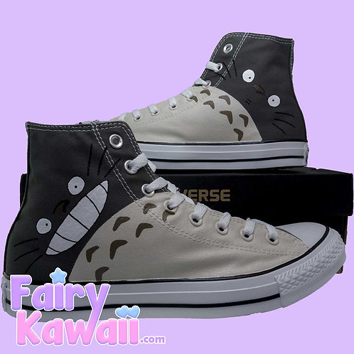 Totoro Shoes - Custom Converse Anime Shoes