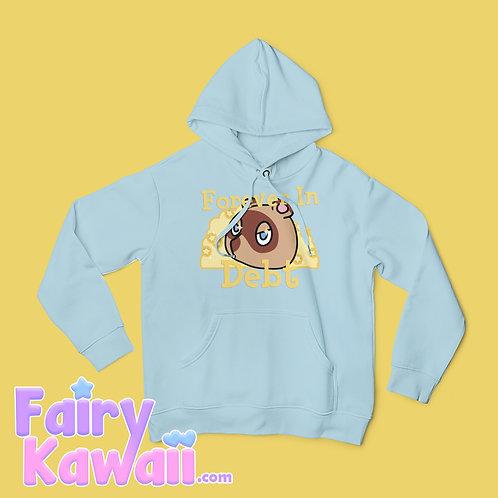 Forever in Debt Animal Crossing Hoodie Kawaii Clothing
