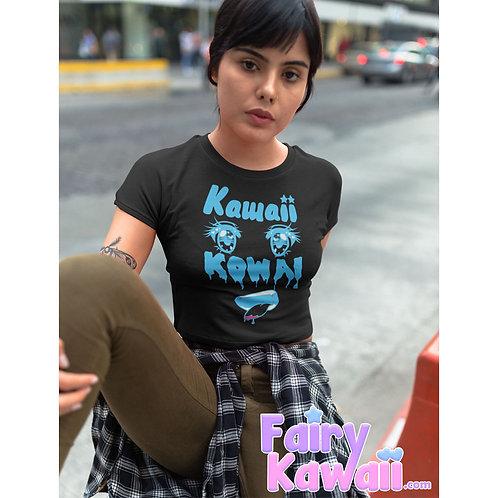 Kawaii Kowai Women's Crop Top Shirt Kawaii Clothing