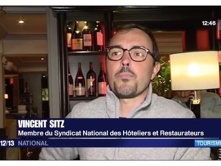 Paris : les touristes étrangers reviennent !