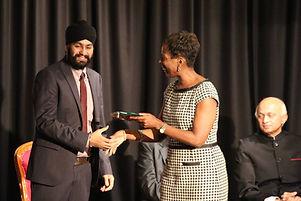 Milapfest National Arts Award 2015 - Jas