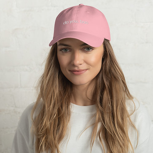do you, boo - dad hat