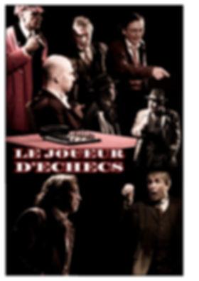 """""""Le joueur d'échecs de Stefan Zweig, adapté par Claude Mann, mis en scène par Sissia Buggy au Théâtre Espace Marais."""