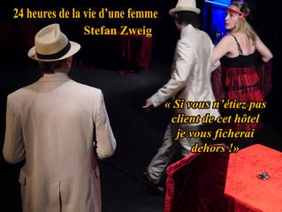 24 heures de la vie d'une femme. Stefan Zweig.