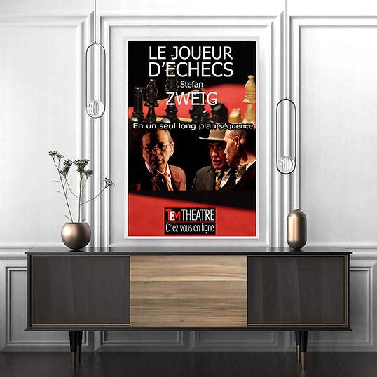 Le joueur d'Échecs - Zweig - Théâtre Espace Marais à distance : en direct en live en ligne