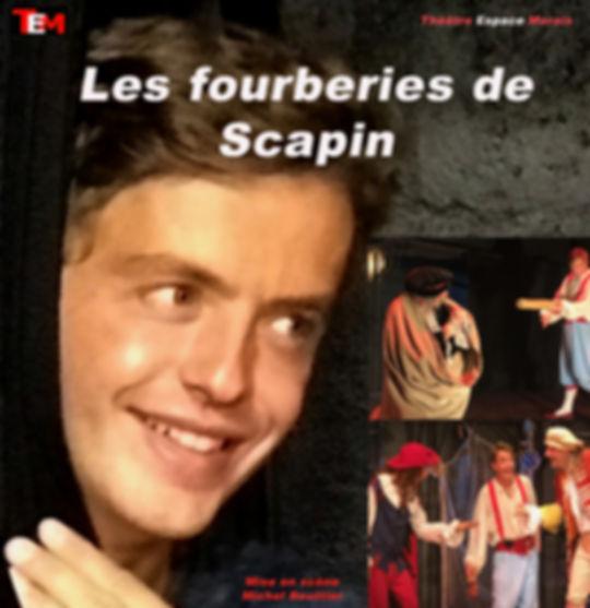 Les fourberies de Scapin Molière Théâtre Espace Marais Paris