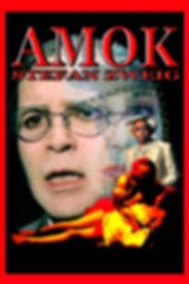 """""""Amok"""" le fou de Malaisie de Stefan Zweig, adapté et mis en scène par Joseph Morana au Théâtre Espace Marais."""