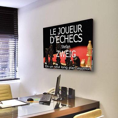Le joueur d'Échecs à distance - Zweig - Théâtre Espace Marais : de mon bureau