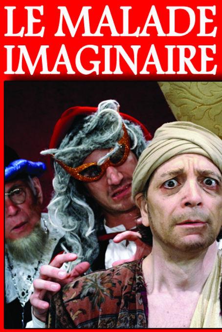 """""""Le malade imaginaire"""" de Molière, mis en scène par Sissia Buggy au Théâtre Espace Marais."""