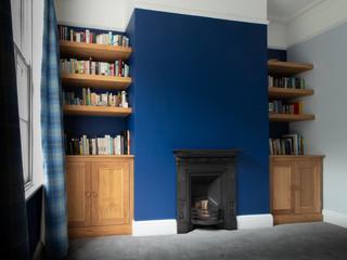 Oak Alcove Cabinet Set