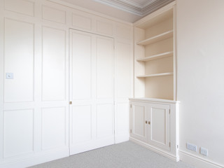 Built in Alcove Cabinet
