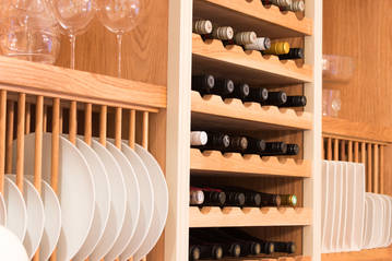 Custom made wine storage