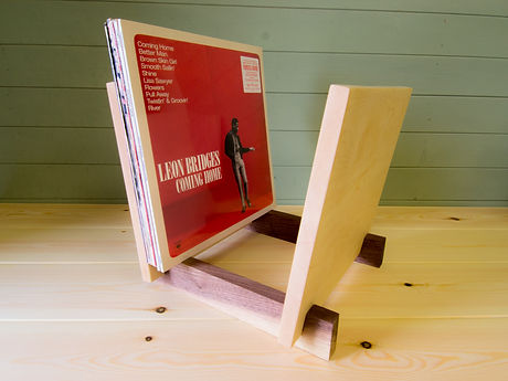 Record Stands with records- Davies Woodwork (1 of 1).JPG