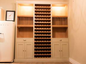 Bespoke Oak Wine Cabinet