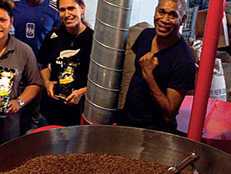 A Coffee Roasting Success Story in New Caledonia