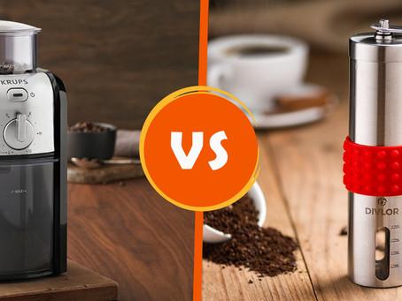 Coffee Grinder for Home User: Hand Grinder Vs. Electric Grinder