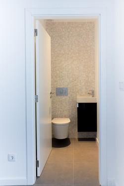 Casa de banho de serviço