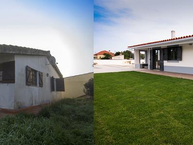 Transformação surpreendente de moradia em Tomar