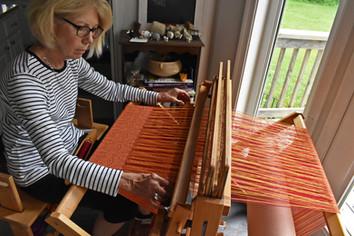 Diane Myers, Handwoven Fiber Artist