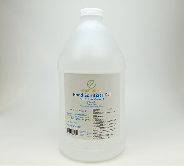 64oz Hand Sanitizer Gel 70% Alcohol (Case of 6 units)