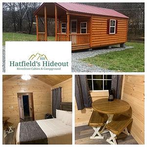 hatfield mccoy cabin rentals